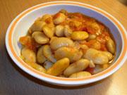 Fassolia gigantes – Haricots blancs en sauce