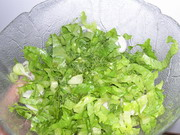 Salata maroulia – salade de laitue