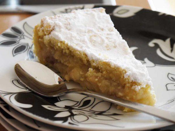 Milopita – tarte aux pommes