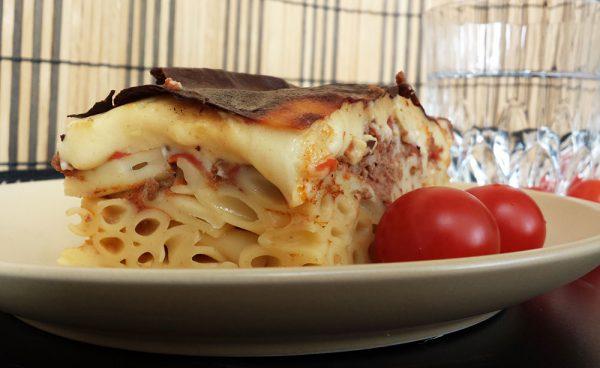 Pastitsio – Gratin de pâtes et viande hâchée