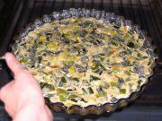 Prasopita sans pâte filo – tarte aux poireaux