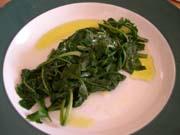 Horta radikia vrasta ou horta – salade de dents-de-lion bouillies