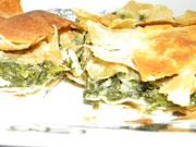 Spanakopita – feuilleté aux épinards et à la feta