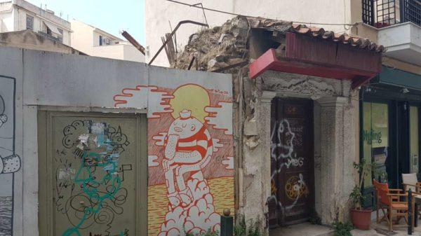 Vieille maison en Grèce